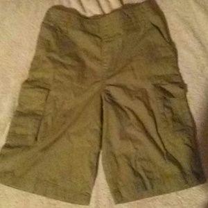 Boys Tan Cargo dress shorts!
